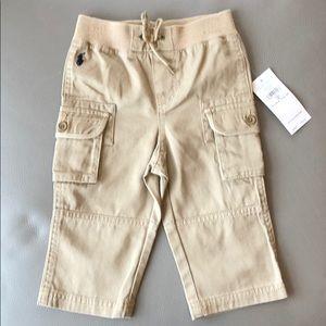 Ralph Lauren Cargo Pants Size 9 mos NWT